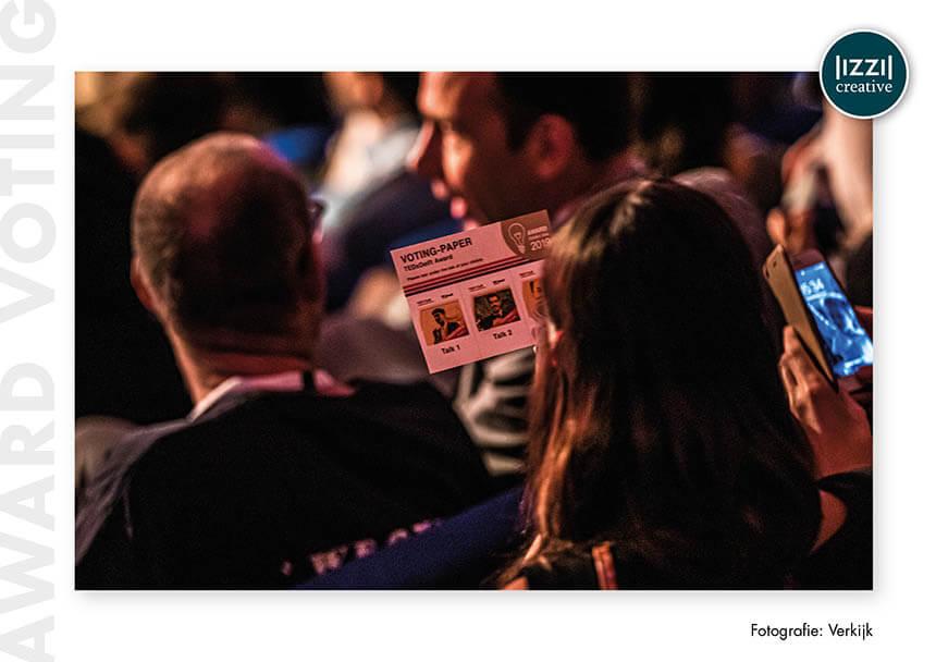 voting-paper, event, TEDxDelft, Verkijk BV