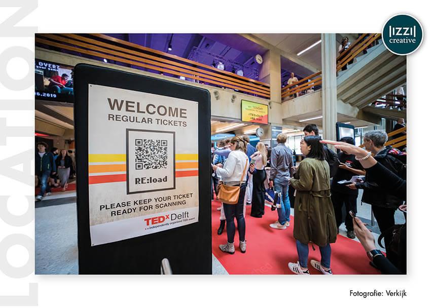 poster, event signing, TEDxDelft, Verkijk BV