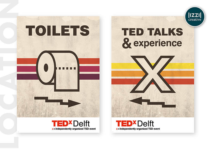 poster, event signing, TEDxDelft