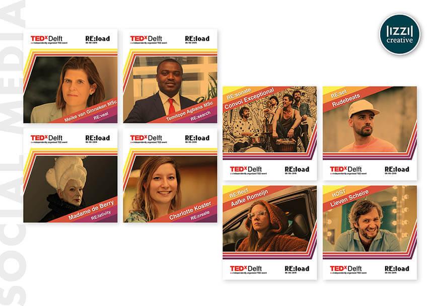 social media, TEDxDelft