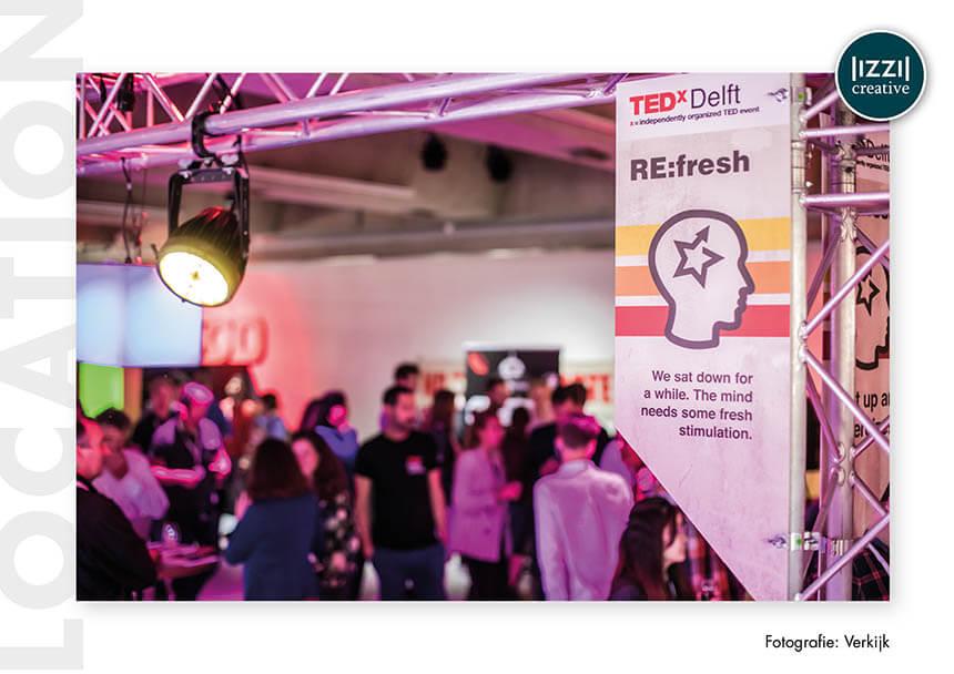 event signing, TEDxDelft, Verkijk BV